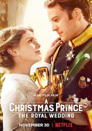 A Christmas Prince The Royal Wedding 2018 BluRay 300Mb Hindi Dual Audio 480p
