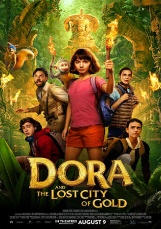 Dora and the Lost City of Gold 2019 HDRip 300MB English 480p ESub