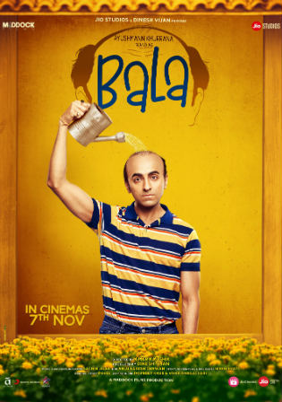 Bala 2019 Pre DVDRip 400Mb Full Hindi Movie Download 480p