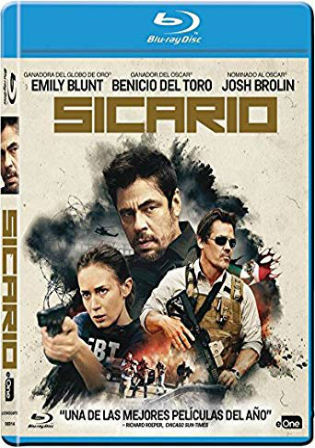 Sicario 2015 BluRay 400MB Hindi Dual Audio 480p ESub