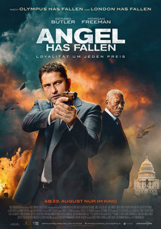 Angel Has Fallen 2019 HDRip 300Mb English 480p ESub