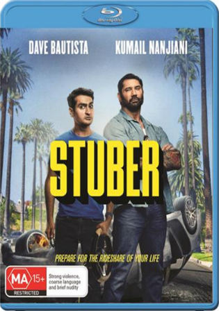 Stuber 2019 BluRay 300MB Hindi Dual Audio ORG 480p ESub