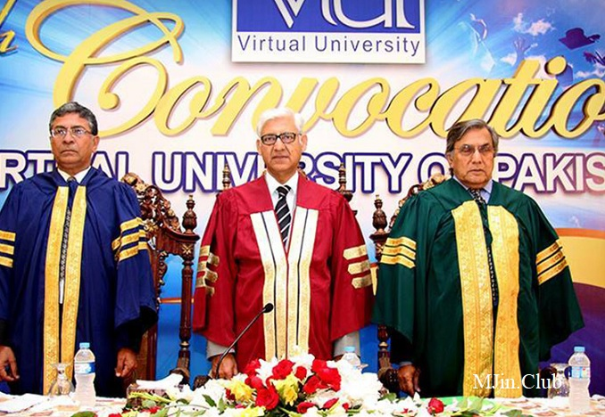 Get Enrolled Passed Students for Degree Convocation Virtual University