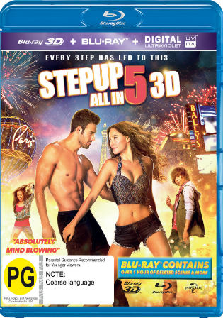 Step Up All In 2014 BluRay 350Mb Hindi Dual Audio 480p