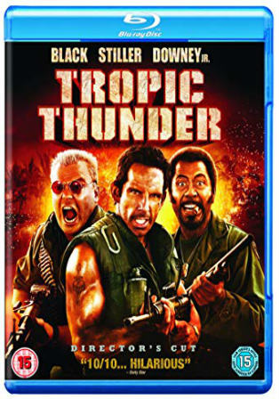 Tropic Thunder 2008 BluRay 450MB UNRATED Hindi Dual Audio ORG 480p