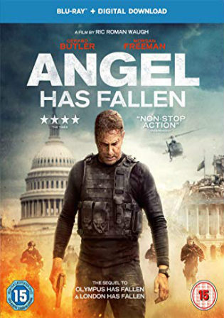 Angel Has Fallen 2019 BRRip English 720p 900Mb Esub