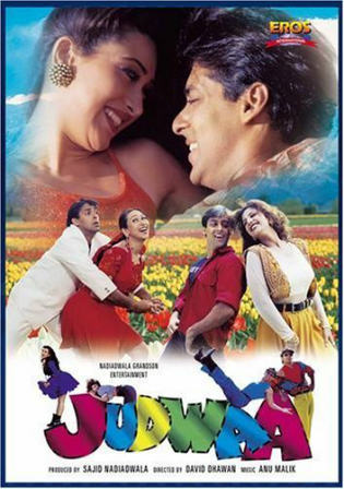 Judwaa 1997 WEB-DL 400MB Hindi 480p