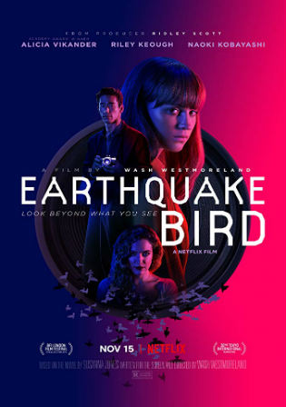 The Earthquake Bird 2019 HDRip 900MB English 720p ESub