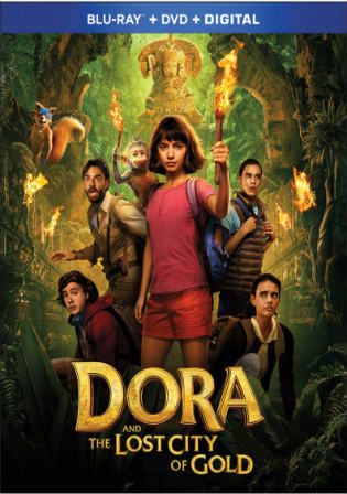 Dora And The Lost City Of Gold 2019 BRRip 300MB Hindi Dual Audio ORG 480p Watch Online Full Movie Download bolly4u
