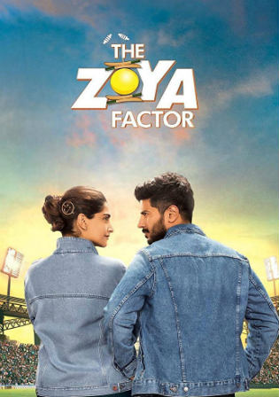 The Zoya Factor 2019 WEB-DL 400Mb Full Hindi Movie Download 480p Watch Online Free Bolly4u