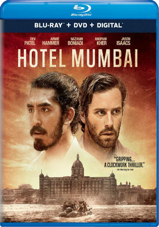 Hotel Mumbai 2018 BluRay 400MB Hindi Dual Audio 480p