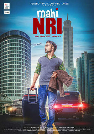 Mahi NRI 2017 WEBRip 400MB Punjabi 480p Watch Online Full Movie Download bolly4u