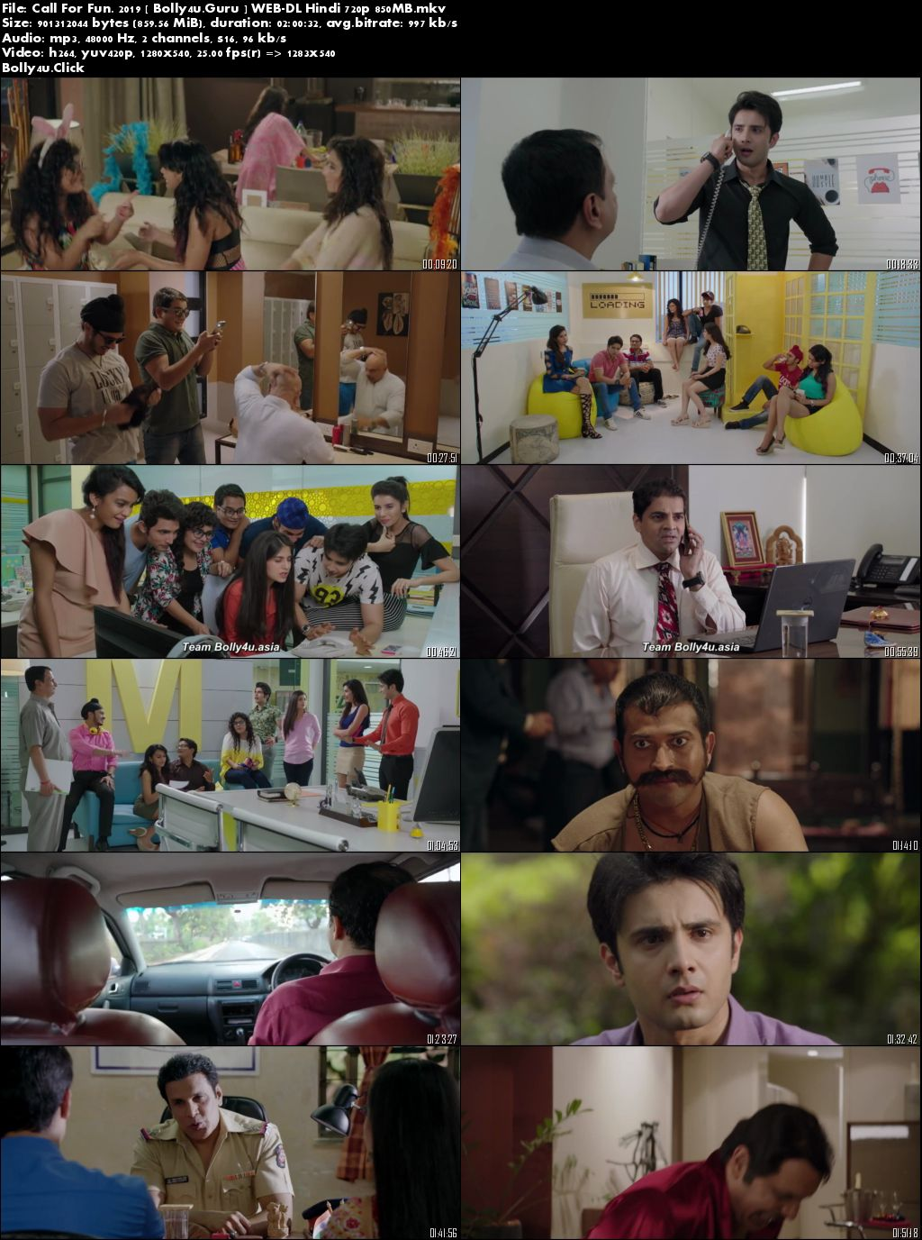 Call For Fun 2019 WEB-DL 300Mb Full Hindi Movie Download 480p
