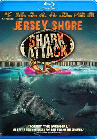 Jersey Shore Shark Attack 2012 BluRay 300MB Hindi Dual Audio 480p