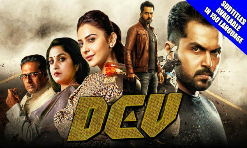 Dev 2019 HDRip 400Mb Hindi Dubbed 480p