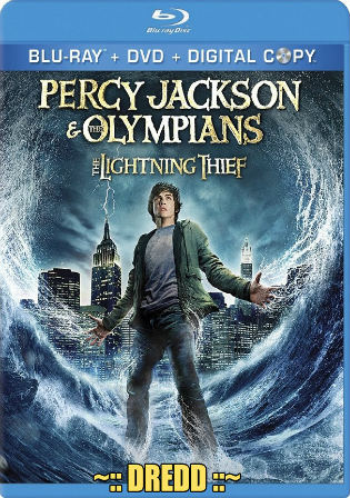 Percy Jackson and The Olympians The Lightning Thief 2010 BRRip 900Mb Hindi Dual Audio 720p