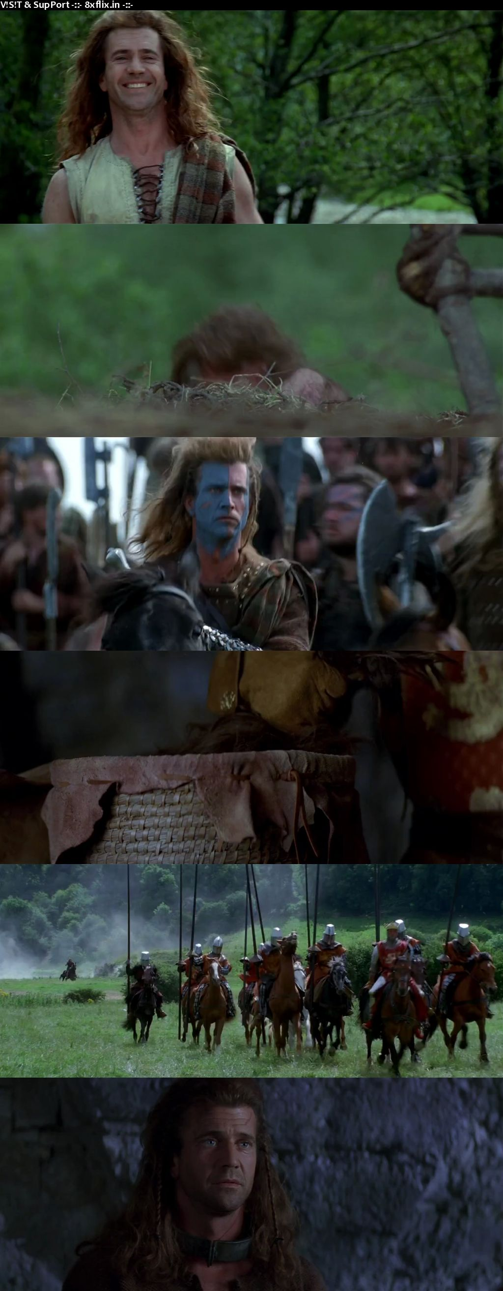 Braveheart 1995 Hindi English Dual Audio 720p 480p BluRay