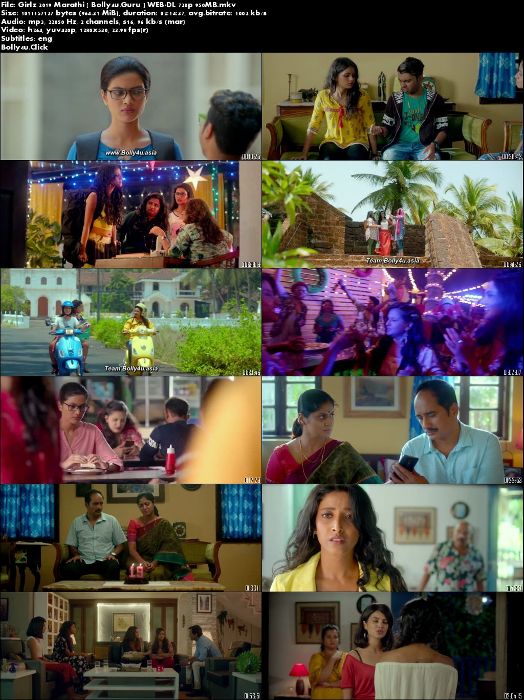 Girlz 2019 WEB-DL 950MB Marathi 720p Download