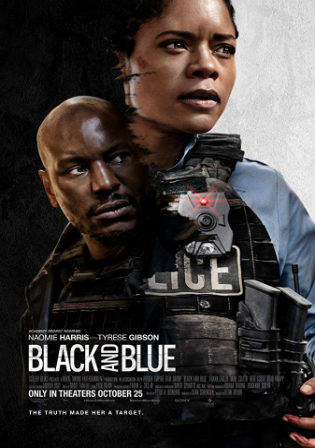 Black and Blue 2019 HDRip 750MB English 720p ESub