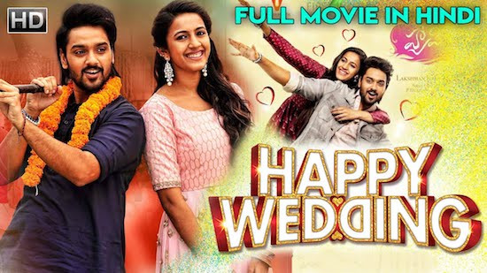 Happy Wedding 2020 HDRip 800Mb Hindi Dubbed 720p