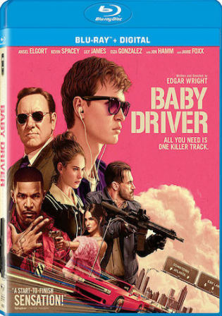 Baby Driver 2017 BluRay 850Mb Hindi Dual Audio ORG 720p