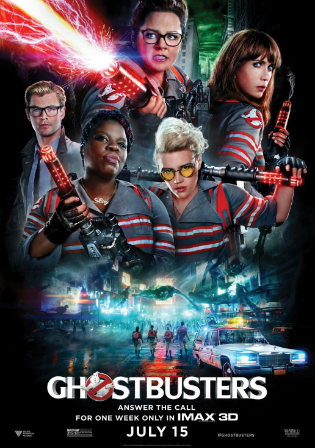 Ghostbusters 2016 Hindi 720p 850Mb BluRay Mkv4u