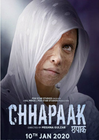 Chhapaak 2020 Pre DVDRip 750MB Full Hindi Movie Download 720p Watch Online Free bolly4u