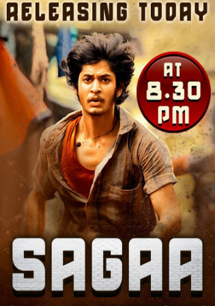 Sagaa 2020 HDRip 700Mb Hindi Dubbed 720p