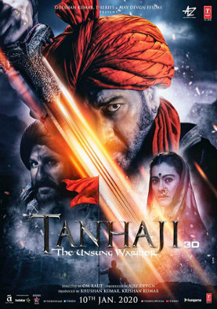 Tanhaji The Unsung Warrior 2020 Pre DVDRip 300MB Hindi 480p Watch Online Full Movie Download bolly4u