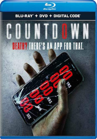 Countdown 2019 BRRip 800Mb English 720p ESub