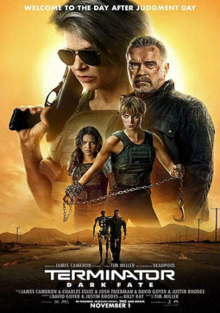 Terminator Dark Fate 2019 HC HDRip 1.1GB Hindi Dual Audio 720p Watch Online Full Movie Download bolly4u