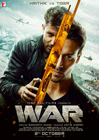 War 2019 BluRay 400MB Full Hindi Movie Download 480p Watch Online Full Movie Download bolly4u