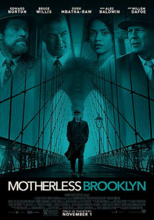Motherless Brooklyn 2019 WEBRip 1Gb English 720p ESub