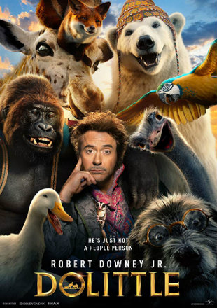 Dolittle 2019 HDCAM 700MB Hindi Dubbed x264