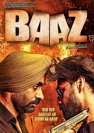Baaz 2020 HDRip 950MB Hindi Dubbed 720p