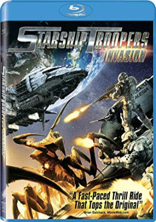 Starship Troopers Invasion 2012 BRRip 650MB Hindi Dual Audio 720p Watch Online Full Movie Download bolly4u
