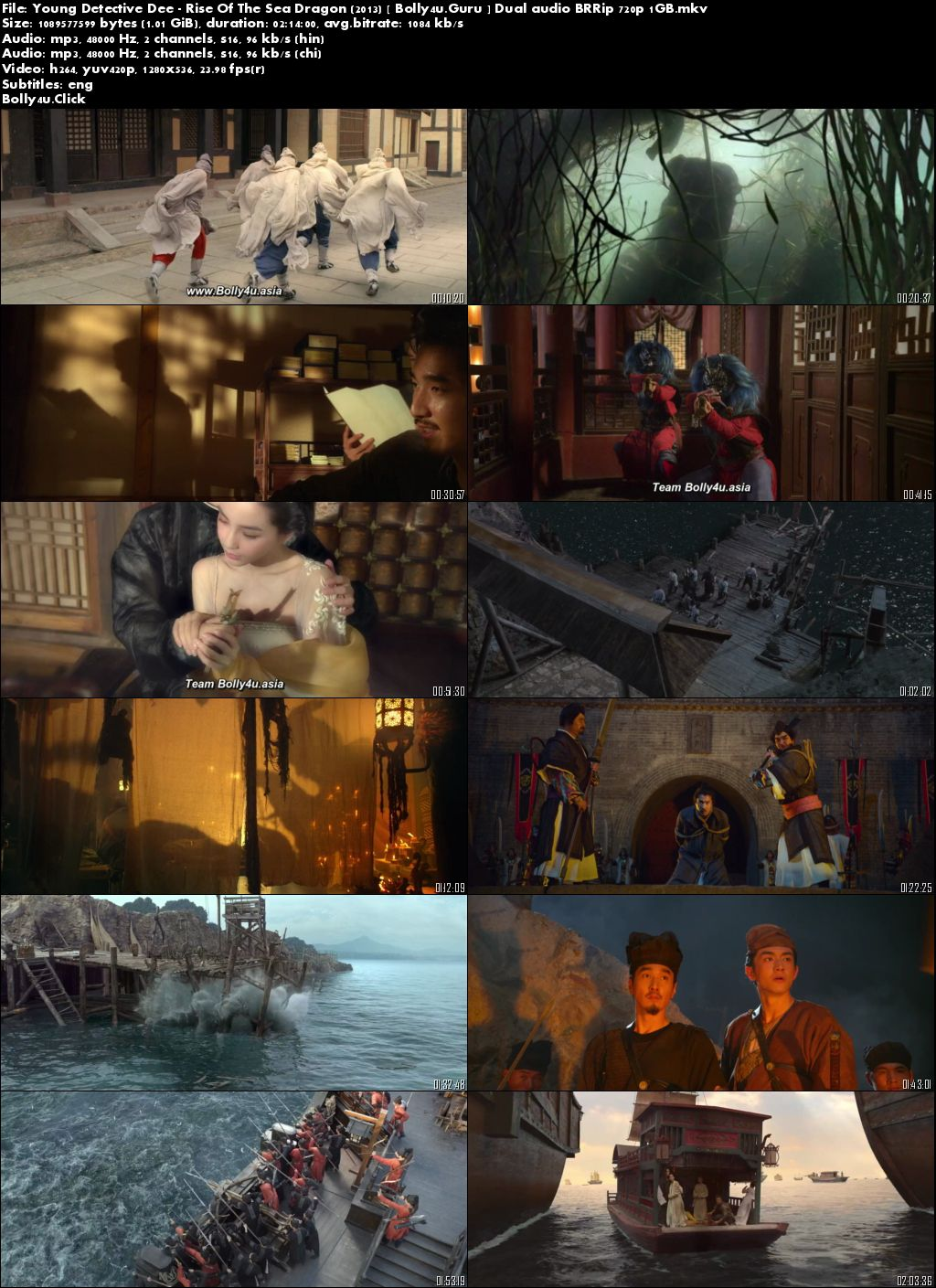 Download Film Young Detective Dee Rise Sea Dragon 2013