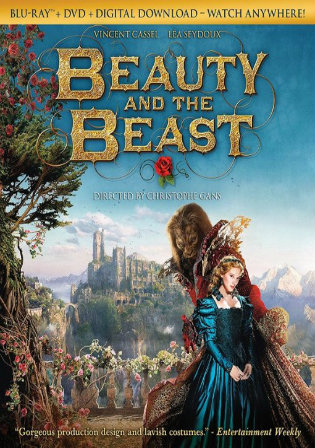 Beauty And The Beast (2014) BRRip 400Mb Hindi ORG 480p Dual Audio Download