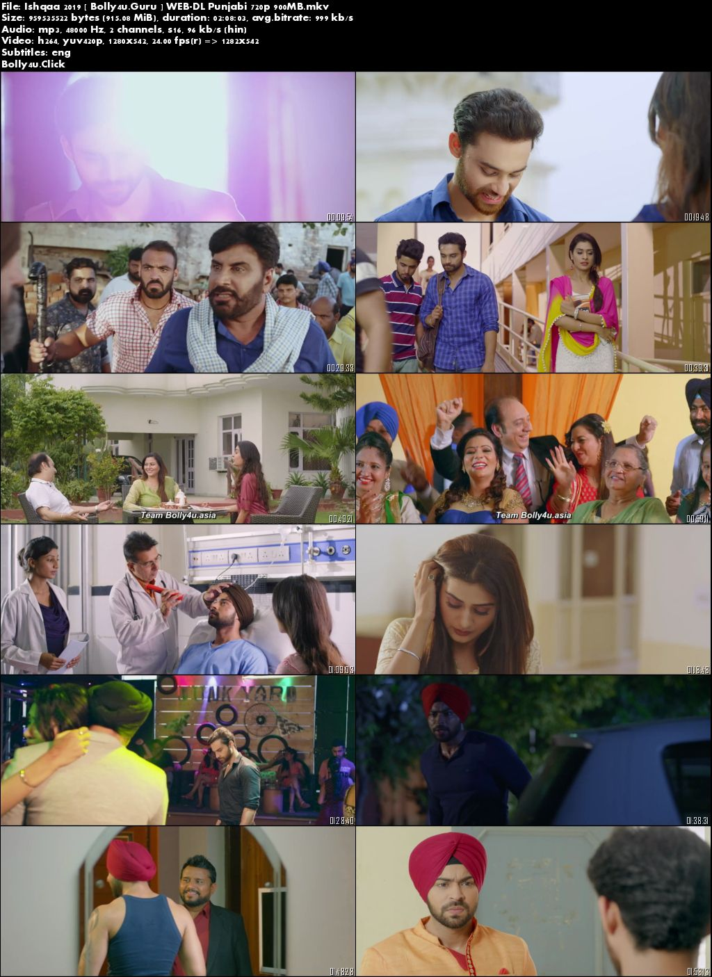 Ishqaa 2019 WEB-DL 900MB Punjabi 720p Download