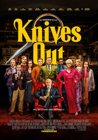 Knives Out 2019 HDRip 950Mb English 720p ESub
