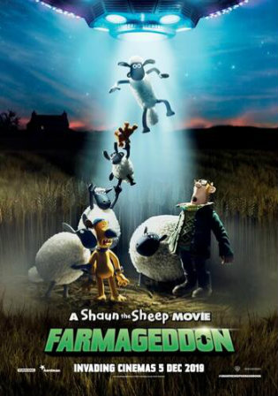 A Shaun The Sheep Movie Farmageddon 2019 BRRip 250Mb English 480p ESub Watch Online Full Movie Download bolly4u