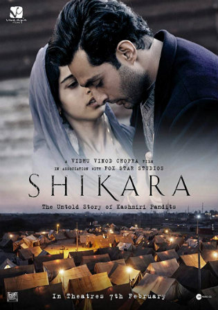 Shikara 2020 Pre DVDRip 700Mb Full Hindi Movie Download x264