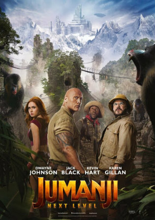 Jumanji The Next Level 2019 HC HDRip 300MB English 480p Watch Online Full Movie Download bolly4u