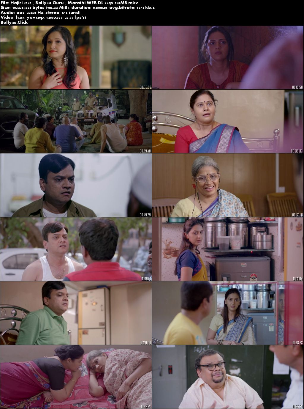 Hajiri 2020 WEB-DL 300MB Marathi 480p Download