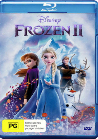 Frozen 2 2019 BRRip 800Mb English 720p ESub