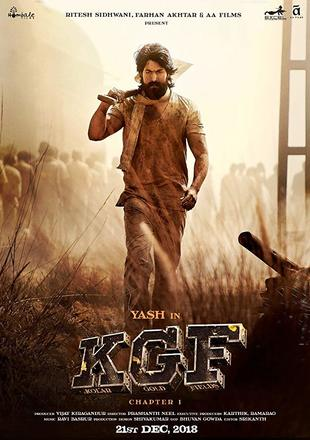 K.G.F Chapter 1 2018 WEB-DL 450MB Hindi ORG 480p Watch Online Full Movie Download bolly4u