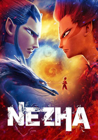 Ne Zha 2019 HDRip 300MB English 480p ESub Watch Online Full Movie Download bolly4u