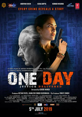 One Day Justice Delivered 2019 WEBRip 300MB Hindi 480p