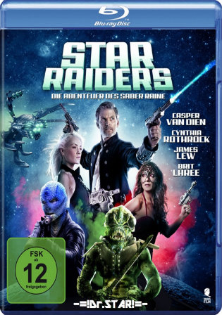 Star Raiders The Adventures of Saber Raine 2017 BRRip 280MB Hindi Dual Audio 480p