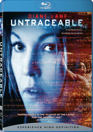 Untraceable 2008 BRRip 300MB Hindi Dual Audio 480p